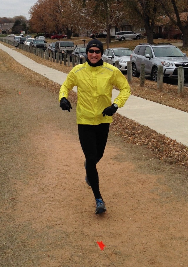 Gregory Klenda Kansas Ultramarathon race 6 12 24 Race November 15 2014