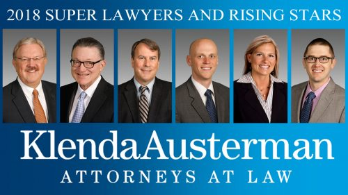 2018 Super Lawyers and Rising Stars